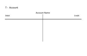 T Account