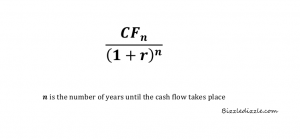Discounted Cash Flow Formula